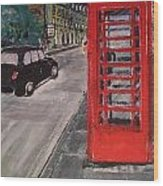 Queens Street By Findlay Close Wood Print