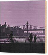Queensboro Bridge 1 - Manhattan - New York Wood Print