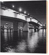 Queensway Bridge Wood Print