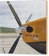 Quest Kodiak Aircraft Wood Print