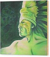 Quetzal Wood Print by Robert Martinez