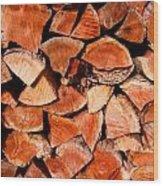 Quick Trick Wood Stack Wood Print