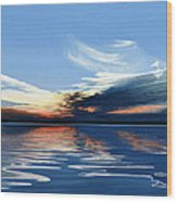 Quiet Reflections Wood Print