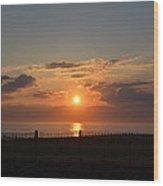 Quiet Sunrise Wood Print