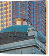 Quincy Market Dome Wood Print