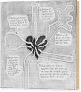 Quintuple Bypasses Explained Wood Print