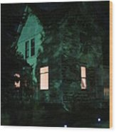 Quite The Weathered House Wood Print by Guy Ricketts