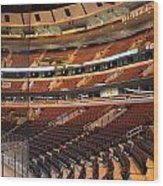 Quite Time Chicago United Center Before The Gates Open 02 Wood Print