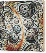 Quorum Sense Wood Print by Anastasiya Malakhova