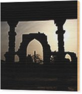 Qutab Minar Complex - New Delhi - India Wood Print