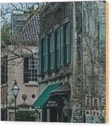 Quuen Street In Charleston Sc Wood Print