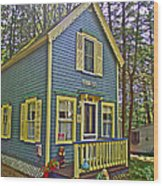 R Blue Heaven In Asbury Grove In South Hamilton-massachusetts Wood Print