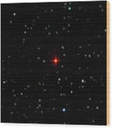 R Leporis Variable Star Wood Print