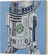 R2decaf Wood Print