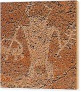 Fremont Shaman A Wood Print