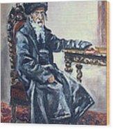 Rabbi Meisels Wood Print