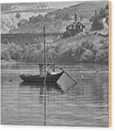 Rabelo Boat Wood Print