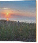 Race Point Sunset Wood Print
