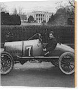 Racecar, 1922 Wood Print