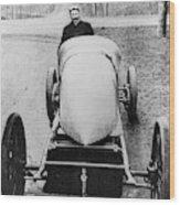 Racecar Driver, C1906 Wood Print