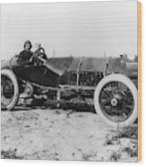 Racecar Drivers, C1913 Wood Print