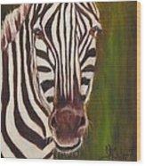 Racer, Zebra Wood Print