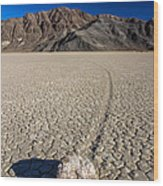 Racetrack In Death Valley National Park Wood Print