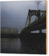 Rachel Carson Bridge Wood Print