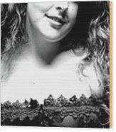 Rachel Rachel Wood Print