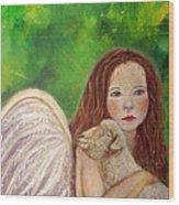 Rachelle Little Lamb The Return To Innocence Wood Print