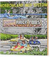 Racing Dreams Wood Print
