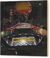 Racing Kart Wood Print