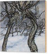 Rackham: Whisper Trees Wood Print