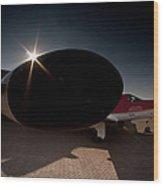 Radar On Wood Print