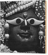 Radha-raman Wood Print