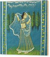 Radha's Passion Wood Print