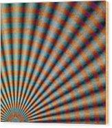 Radiant 2 Wood Print
