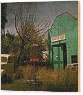 Radiator Shop Repair Wood Print