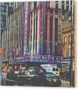 Radio City Music Hall New York City- 1 Wood Print