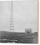 Radio Station, 1916 Wood Print