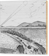 Radiophone, 1880 Wood Print