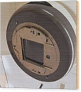 Radiotherapy Linear Accelerator Beam Window Wood Print