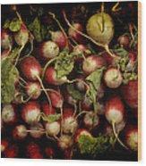 Flemish Radish Art Wood Print