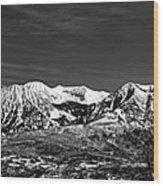 Ragged Mountain Colorado Wood Print
