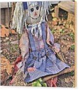Raggedy Ann Wood Print