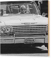 Ragtop Chevrolet Wood Print