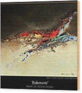 Rahonavis Wood Print
