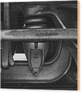 Rail Detail Wood Print