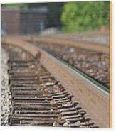 Rail Head - Dalton Georgia Wood Print
