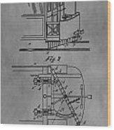 Railcar Fender Wood Print